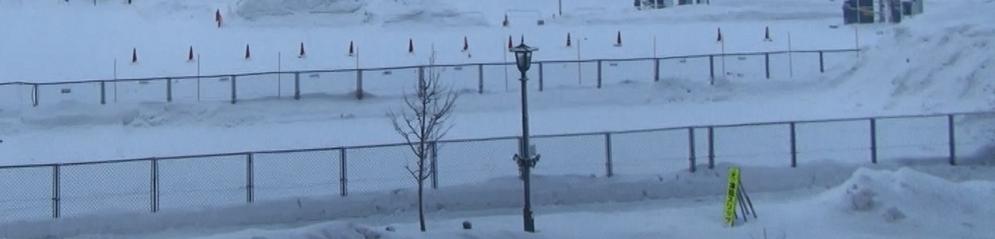 函館外雪道1