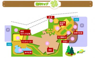 函館熱帯園マップ