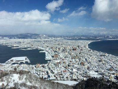 函館山山頂から