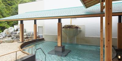壱湯の森露天風呂2