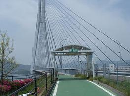 多々羅大橋自転車料金所